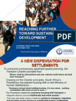 Reaching Further Toward Sustainable Development (2010)