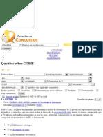 - Questões de concursos públicos sobre COBIT pagina 1 de 85