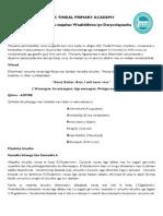 Somali Information for Parents Letter