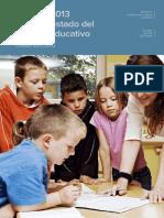 Consejo Escolar del Estado. Informe 2013