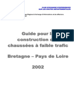 2002 Guide Construction Chaussees Faible Trafic