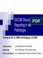 Schoech Et Al. DICOM-SR in Der Pathologie