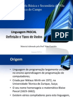 Pascal DefinicaoTipos