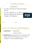 Business Juridical Relation
