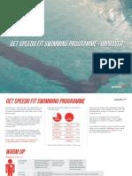 Get Speedo Fit Swimming Programme - Improver