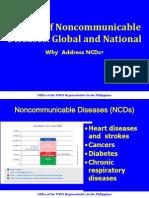 Global Burden of NCDs