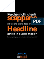 Landing Page e Headline Vincenti - Ebook