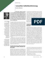 Schubert 2013-Sexuelle Selbstbestimmung-Der Schutz Von LSBTI Durch Die Vereinten Nationen
