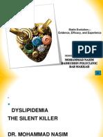 Presentation on Dyslipidemia on 20.11.13