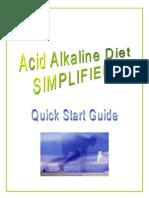 Alkaline Diet SIMPLIFIED! - Quick Start Guide