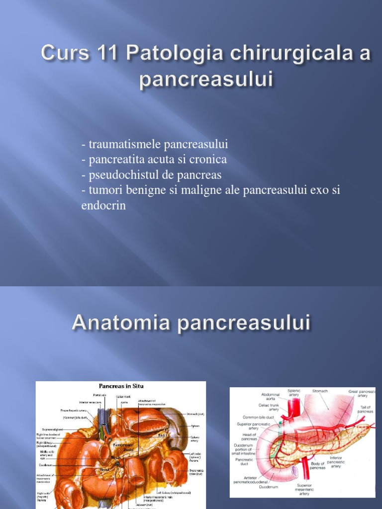 Restaurarea pancreasului acasă - Complicaţiile