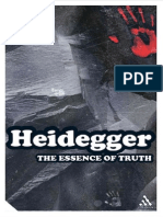 Martin Heidegger the Essence of Truth on Platos Parable of the Cave and the Theaetetus Continuum Impacts 2004