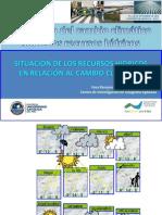Situación de los RRHH en relación al CC - Nicole Bernex – GWP - PUCP