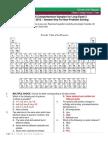 Chemistry 16 Comprehensive Samplex (ANSWER KEY for Non-PSolv)
