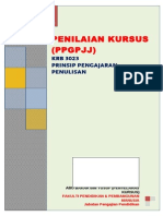 1. Pjj Krb 3023 Semester 1 Sesi 2013 2014 Penilaian Kursus Prinsip Pengajaran Penulisan