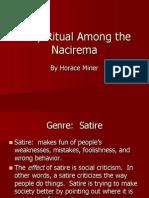 Body Ritual Among the Nacirema