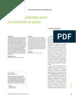MARTINEZ-D-Rasgos de La Subjetividad Juvenil en La Educaci n de Adultos