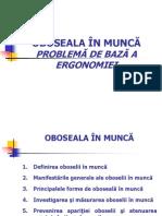 3- Oboseala in Munca