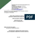 2_Tehnologie Farmaceutica F IV S2 2012 - Copy