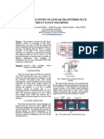 Comparative Study on Linear Transverse Flux Reluctance Machines