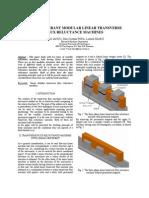 Fault Tolerant Modular Linear Transverse Flux Reluctance Machines