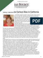 Mary Katherine Carlson