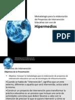 Metodologia Proyectos Intervencion en Educacion