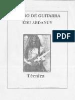 Curso de Guitarra Edu Ardanuy (Técnica)
