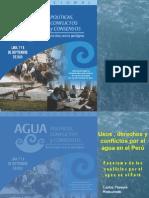 Mapa de los actuales conflictos por el agua en el Perú - Carlos Pereyra - IPROGA