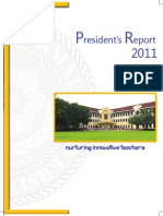 President Report Book 2011