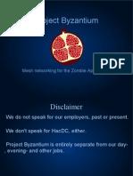 HOPE Byzantium Presentation