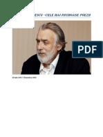 Adrian Paunescu - Cele Mai Frumoase Poezii