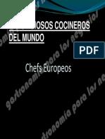 Chefs Europeos