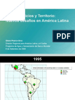 Agua, servicios y territorio, estado de la gestión y enfoques - Glenn Pearce – Programa de Agua y Saneamiento del BM