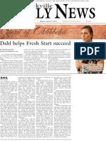 Dahl Helps Fresh Start Succeeds