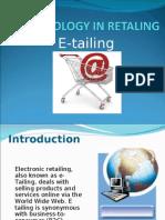 E-TAILING
