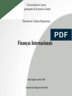 Financas internacionais