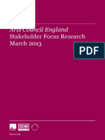ACE Stakeholder Focus 2012