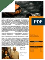Oct 2013 Newsletter