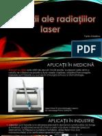 Aplicații ale radiațiilor laser