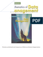 Mathematics of Data Management v2
