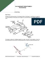 Aeroelasticity - Aileron Reversal 3D