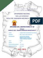 Informe N_02 Laboratorio Maquinas Electricas