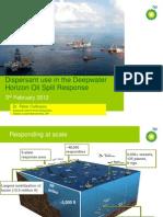 Dirpersant Use Deepwater Horizon 2012