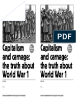 Truth About WW1 SWP Mtg