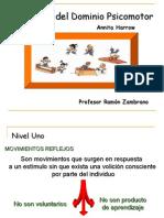 ANITA HARROW Taxonomia Psicomotor
