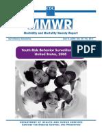 2005 CDC National Youth Risk Behavior Survey