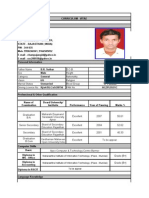 Curriculum Vitae Champalal