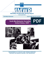 2007 CDC National Youth Risk Behavior Survey