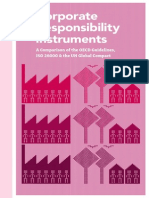 Corporate Responsibility Instruments
